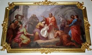 affresco Chiesa di S.Martino Cadorago (Valtorta)